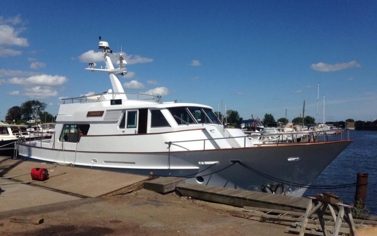 Van Dam Nordia 56 Long Range Explorer Yacht